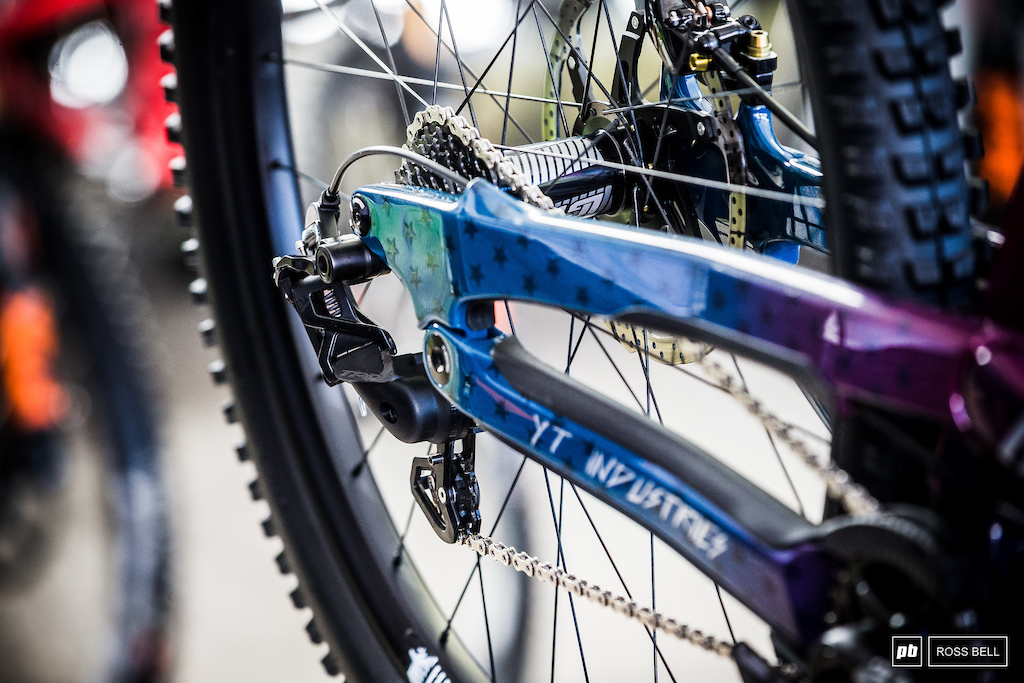 All the speculation is over. The now branded TRP mech of Aaron Gwin.