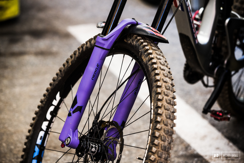 Formula have gone for purple lowers at World Champs.