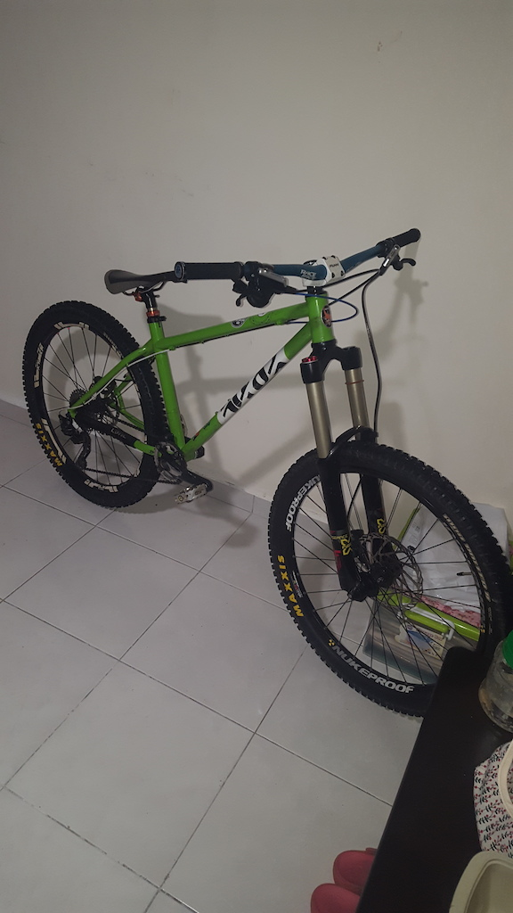 Hardcore hardtail cotic bfe ... steel is real