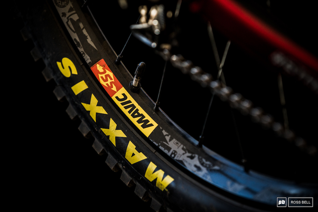 Mavic SSC DH wheels