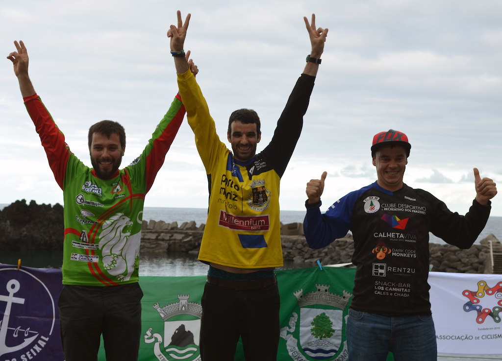 Elite winners of the 4th race of the Madeira Enduro Cup