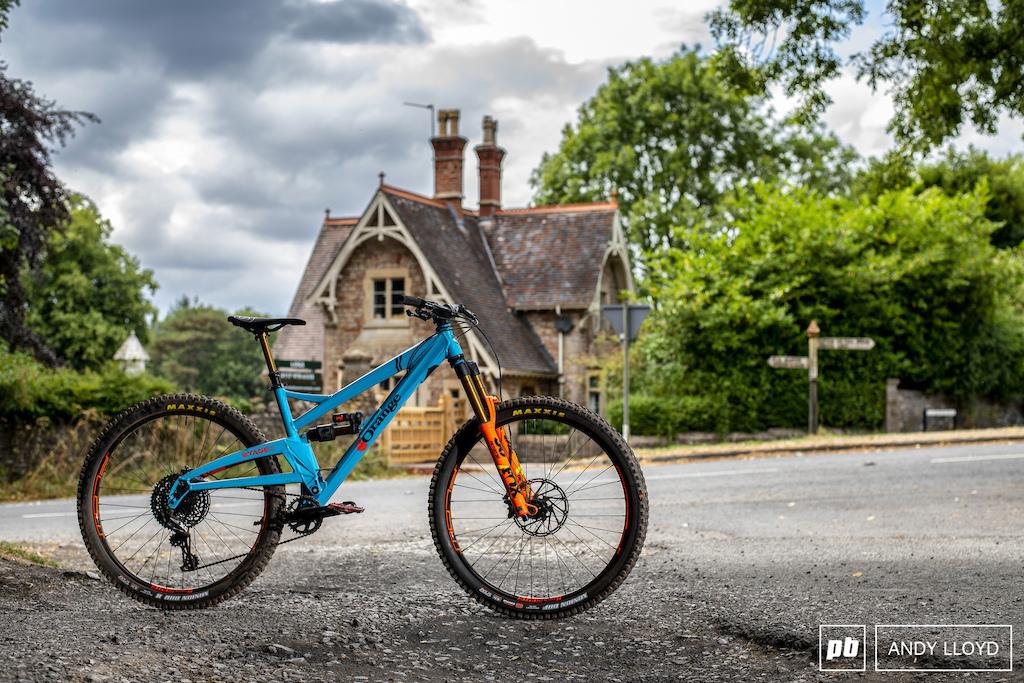 A British bike in a British setting.
