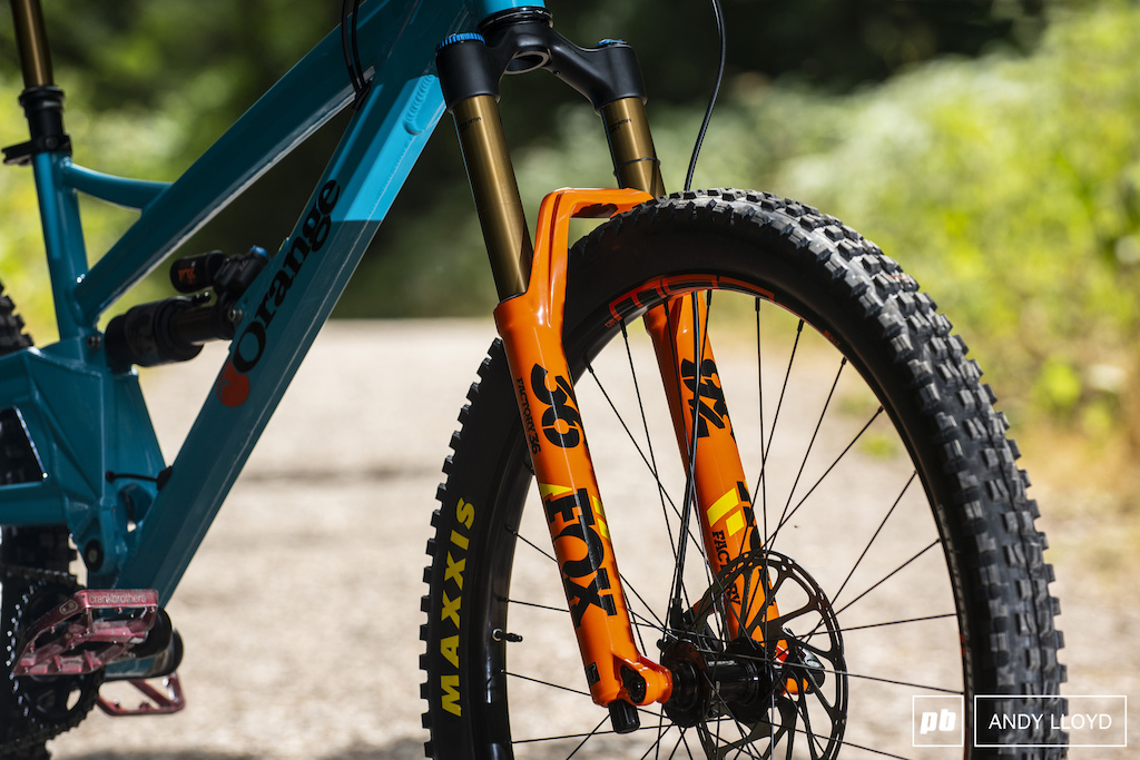 The Fox Factory 36 fork are nothing short of fantastic.
