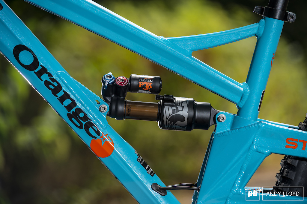 Fox s Float X2 has a great range of useable adjustment.