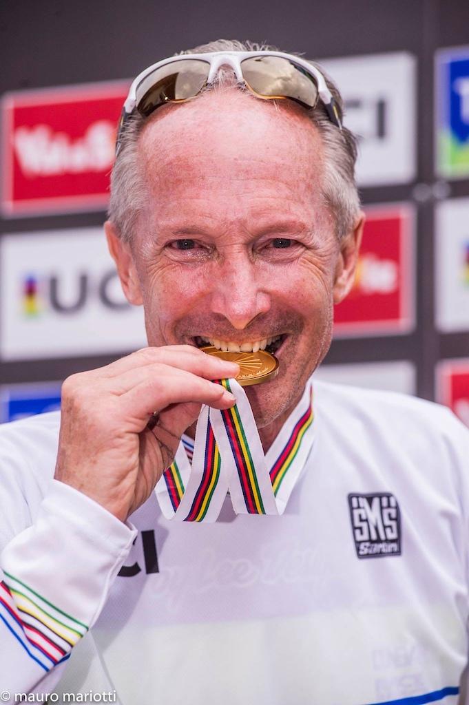 World Masters Champion AGAIN