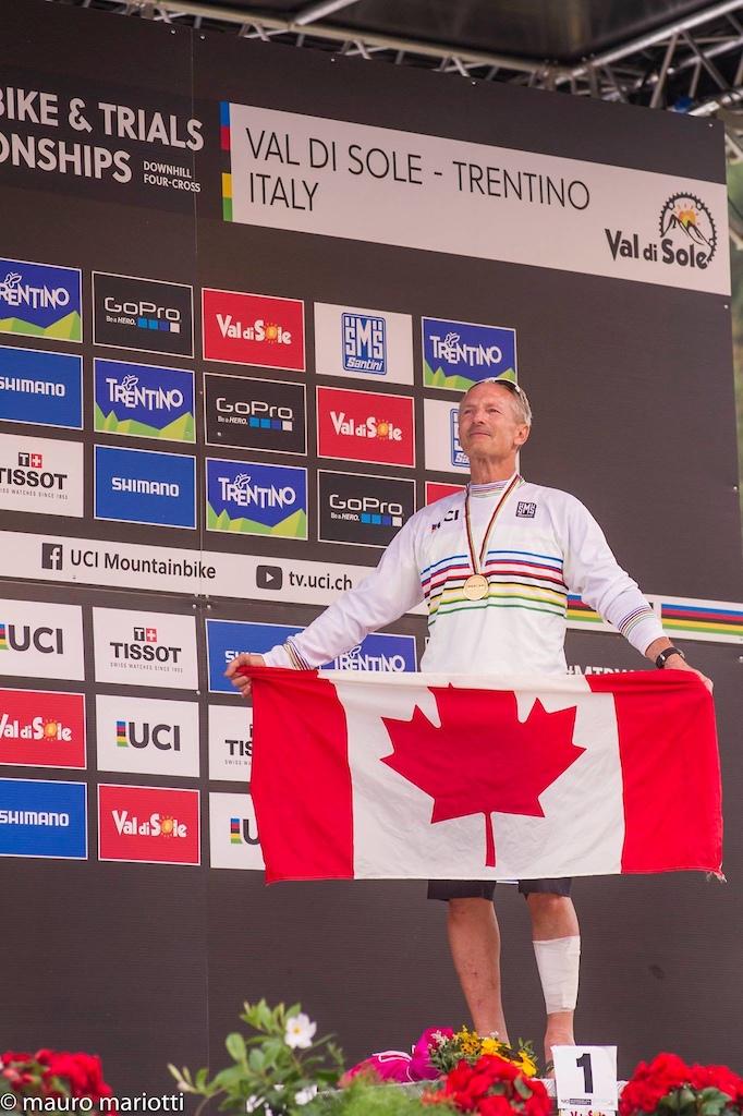 World Masters Champion in Val Di Sole
