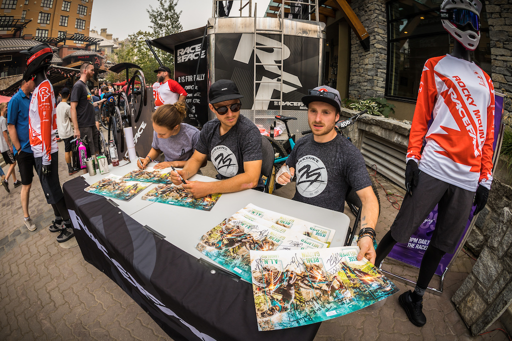 Rocky Mountain Race Face Enduro Team Signing