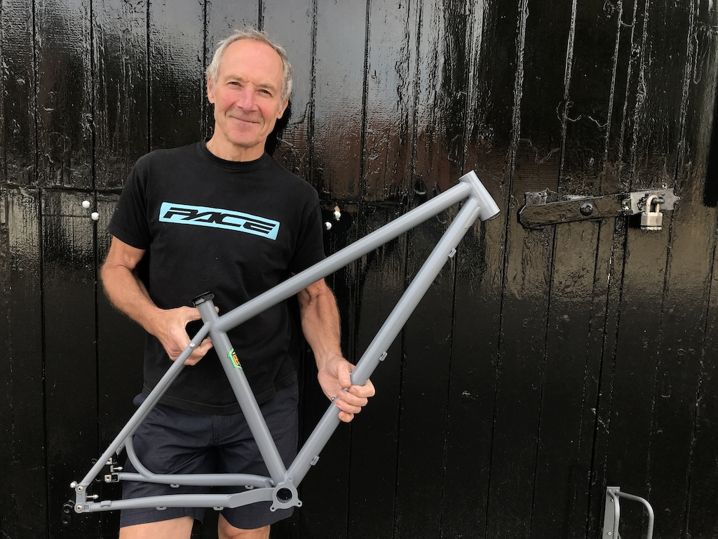 MD and designer of Pace Cycles Adrian Carter