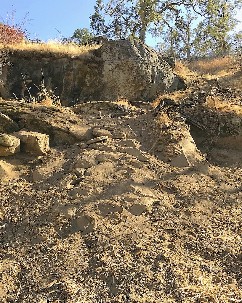 Man made rock garden