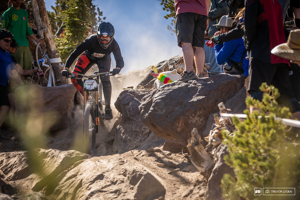Santa Cruz rider Kiran Mackinnon