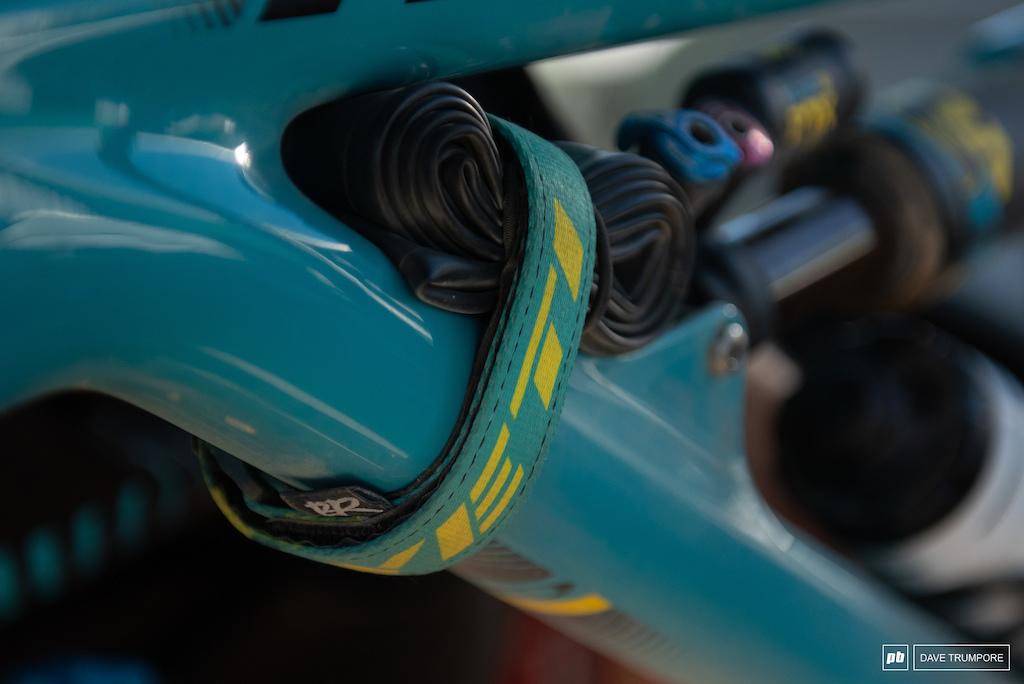 Richie Rude SB150 - Ainsa EWS Winning Bike