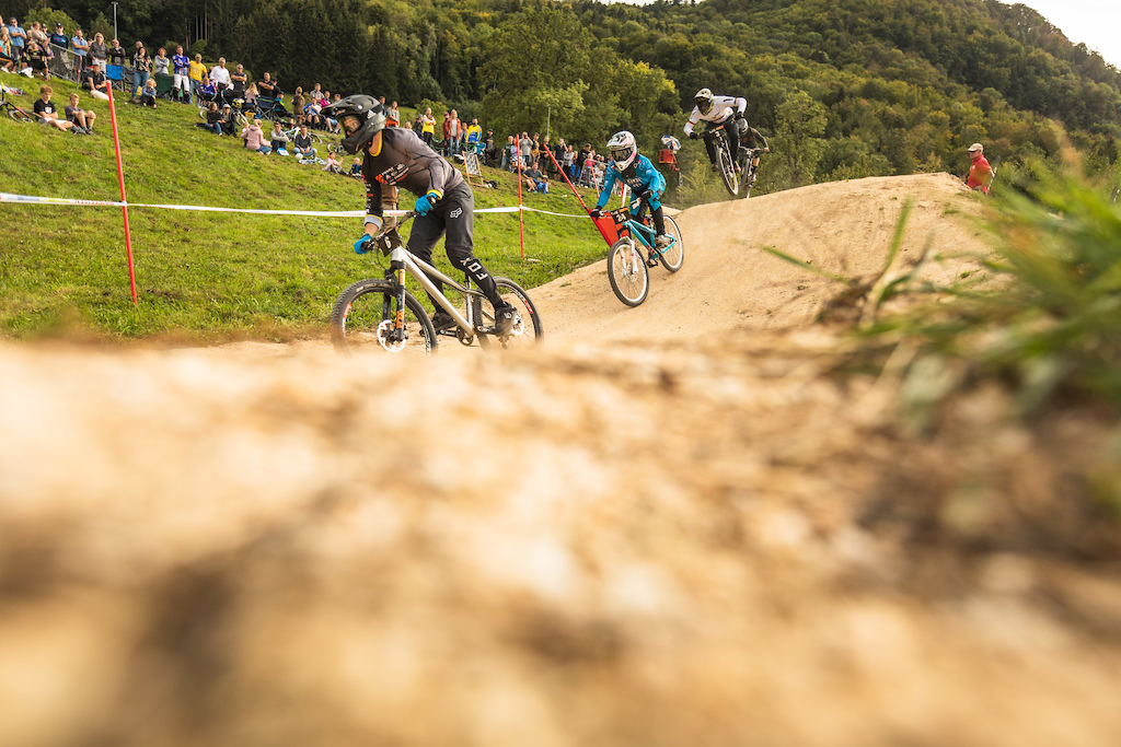 spectators enjoyed watching the action in front of them together with the last warm summer conditions.