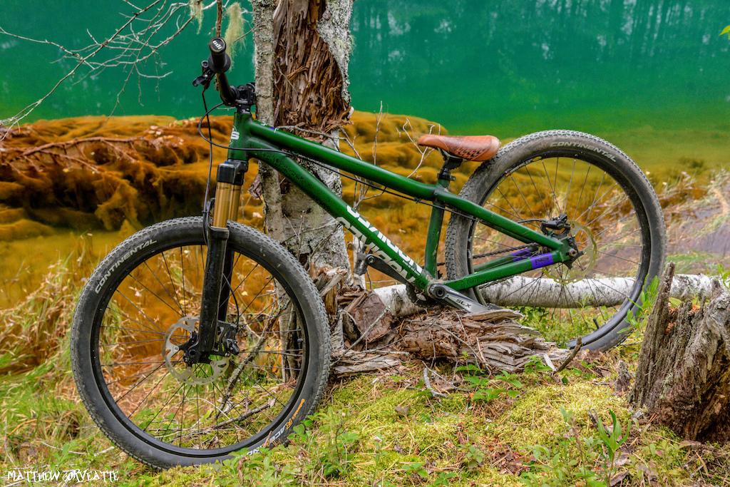 My NS Bikes Decade Zombie Green 2018 by Matthew Gorveatte