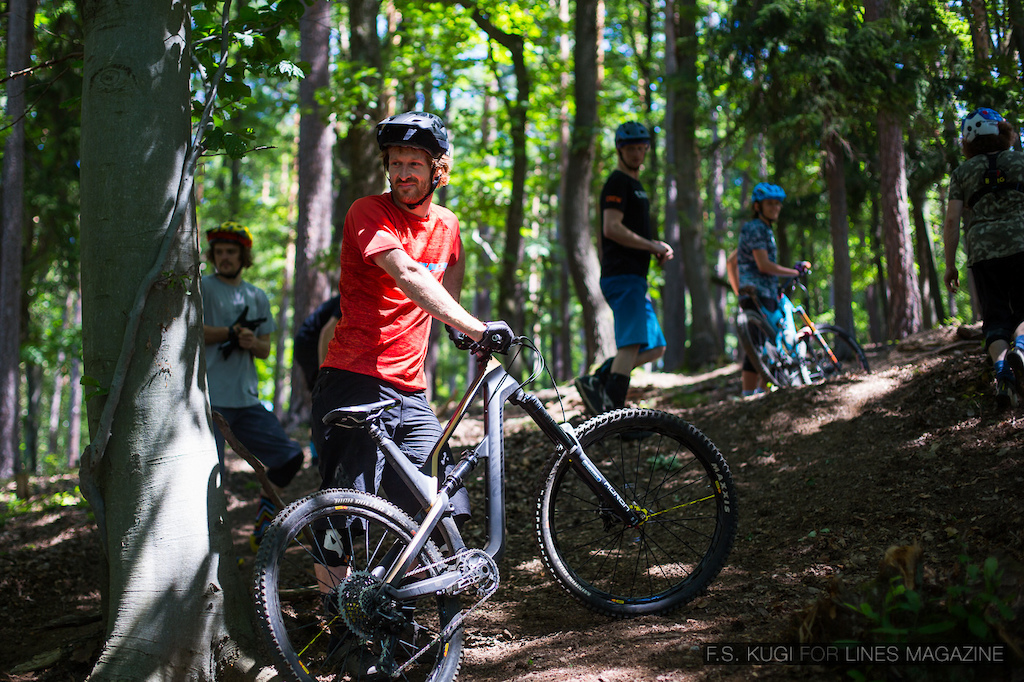 The Dudes were checking out our Dual Slalom. Picture is owned by LINES magazine and was shot by F.S. Kugi
