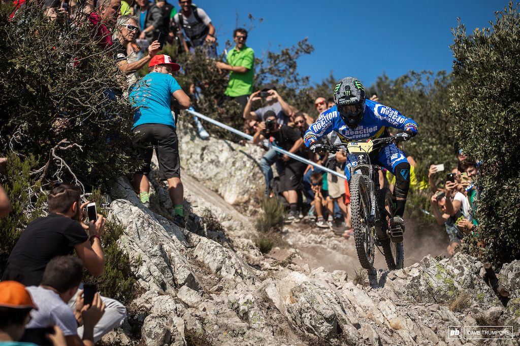 Sam Hill kept it steady in the top 10 to take his second EWS title in two years.