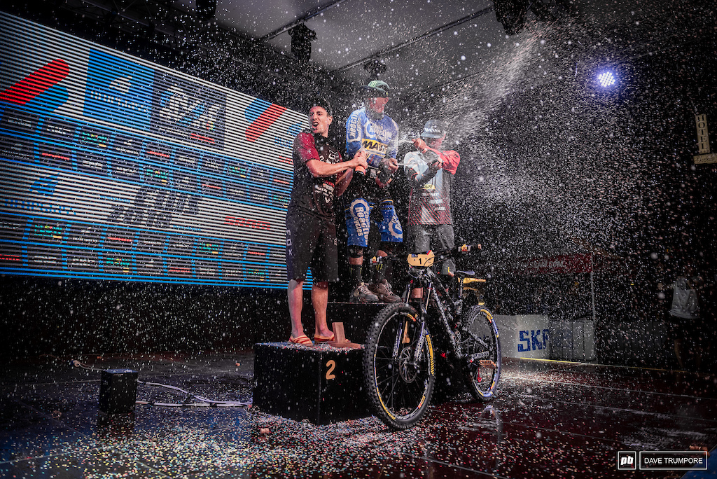 Same Hill Damien Oton and Florian Nicolai took the top three podium spots in the overall after 8 rounds.