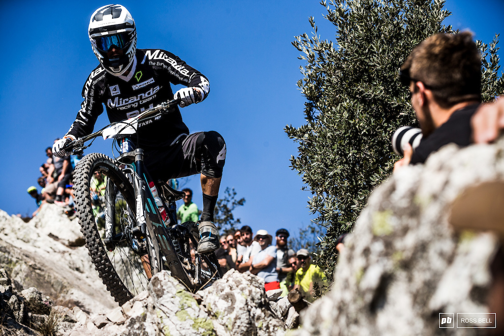 Alex Cure on his way to 6th on stage 2 and 6th overall by the end of the day.