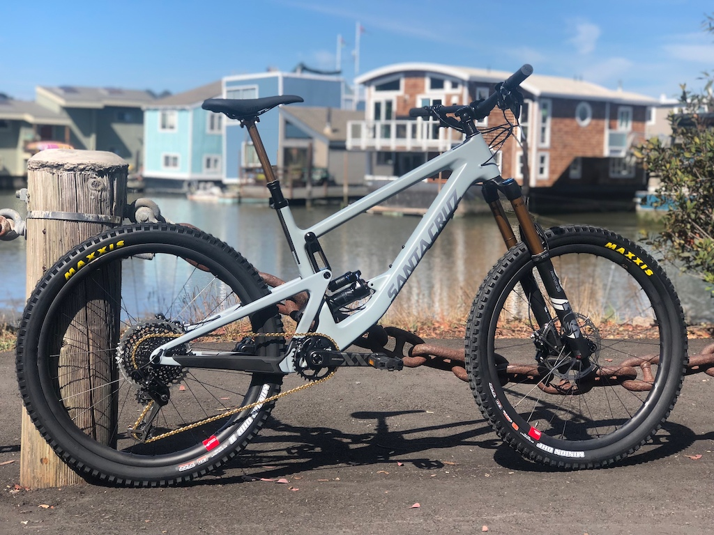 2019 Bronson CC XX1 Reserve/I9 with Transfer and XX1 gold chain added on.