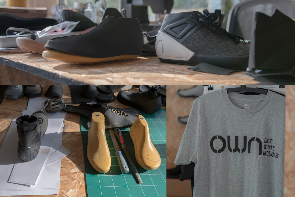 OWN Studio visit OWN FR 01 shoes Rivieride L -bas annecy trip