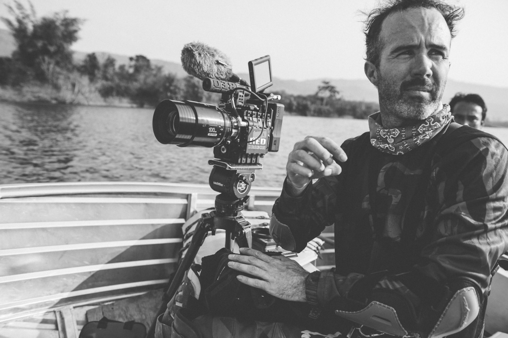 Nicholas Schrunk on location for the feature film project 'Blood Road' in Vietnam, Laos, and Cambodia in March, 2015. // Josh Letchworth/Red Bull Content Pool // AP-1S2W6MKUN2111 // Usage for editorial use only // Please go to www.redbullcontentpool.com for further information. //