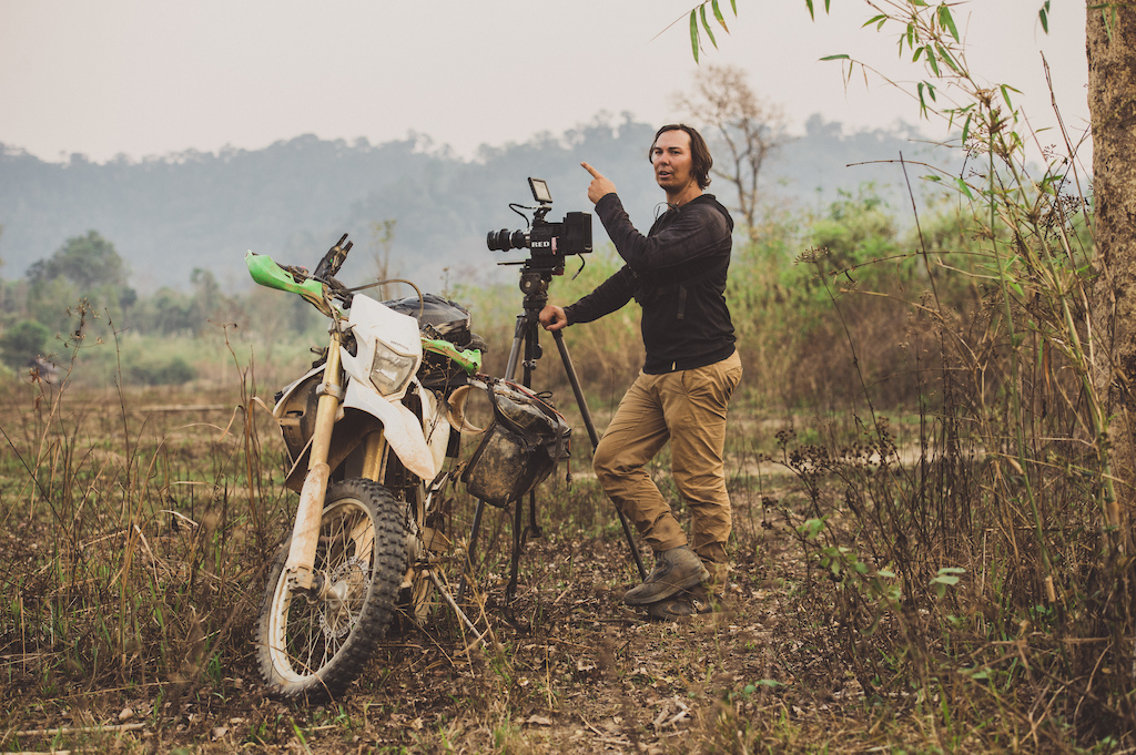 Behind the scenes for the feature film project 'Blood Road' in Vietnam, Laos, and Cambodia in March, 2015. // Josh Letchworth/Red Bull Content Pool // AP-1S2W6S4WW2111 // Usage for editorial use only // Please go to www.redbullcontentpool.com for further information. //