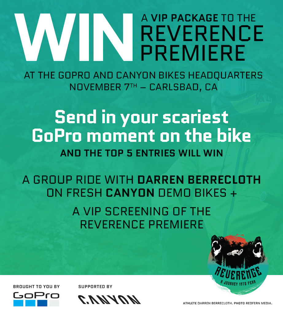 Reverence Premiere - Carlsbad California Wednesday November 7 2018. Consumer Contest