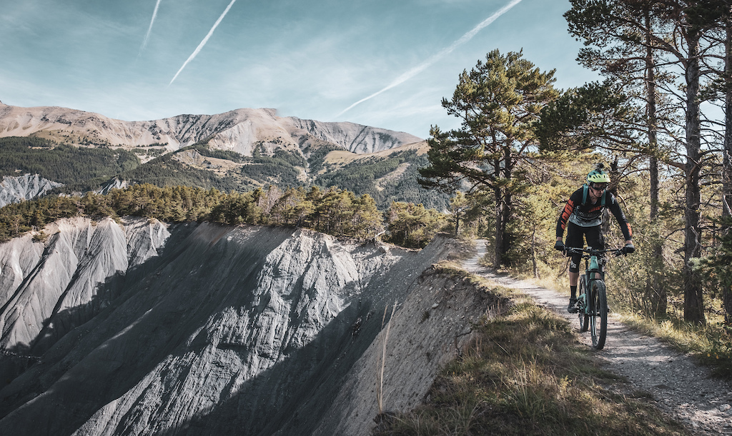 Riding the Transprovence route