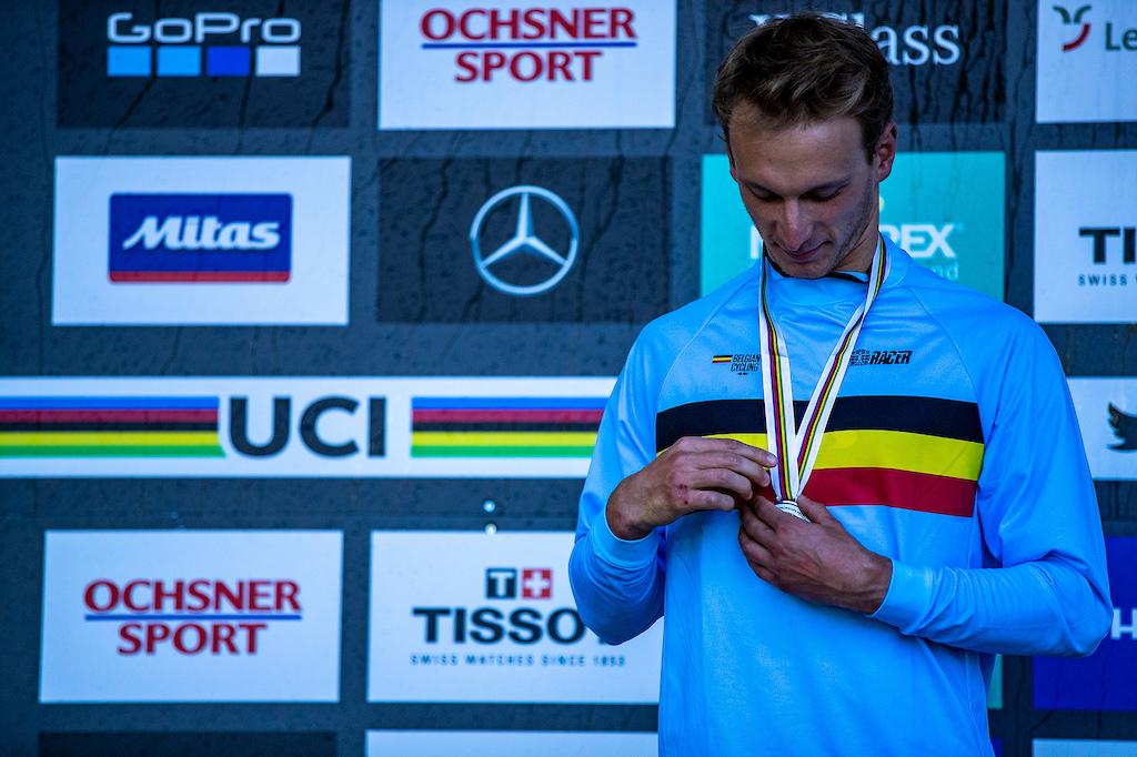 During the 2018 UCI MTB World Championships Lenzerheide Switzerland.