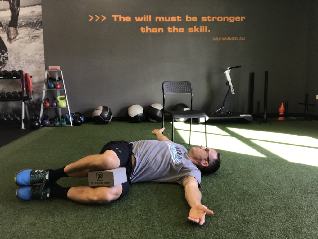 T Spine rotation with breathing