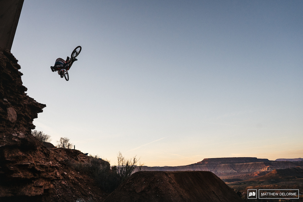 Zink sends a cash roll into the sunset, but the landing bit back.