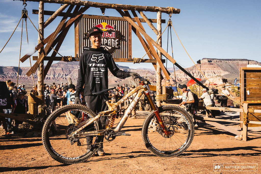 Rheeder takes his first Rampage win in 2018. What a run.