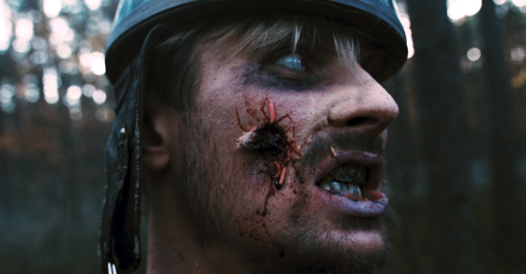 Shot from shortmovie Zombies also want to ride