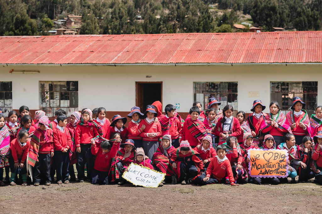 pinkbike s Share The Ride event in Lamay Peru October 2 2018 Photo Robin O Neill