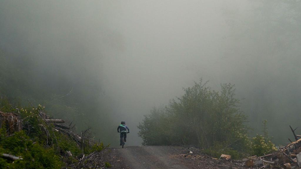 Carson Eiswald on Vedder Mountain