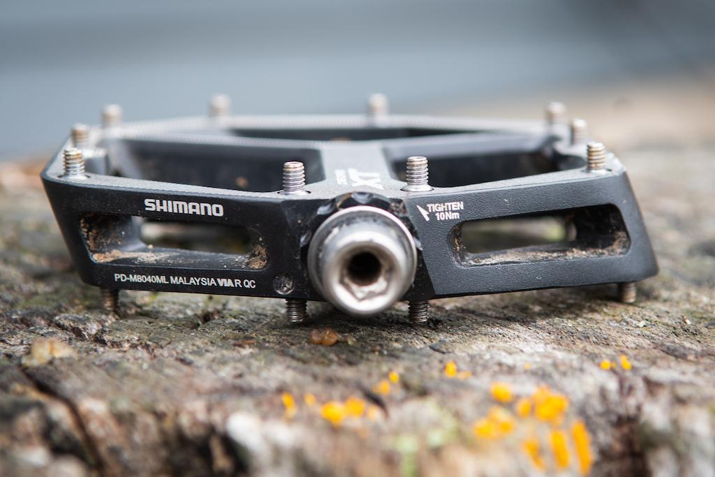 Shimano XT flat pedal review
