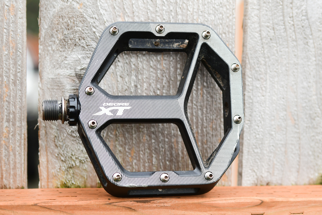 f556af235c27 Review  Shimano XT Flat Pedals - Pinkbike