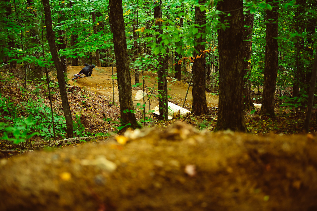 Perfect berms build by JP Tr panier.