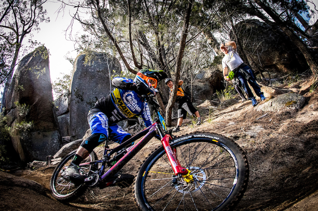 Sam Hill racing the first round of the Asia Pacific Enduro Series