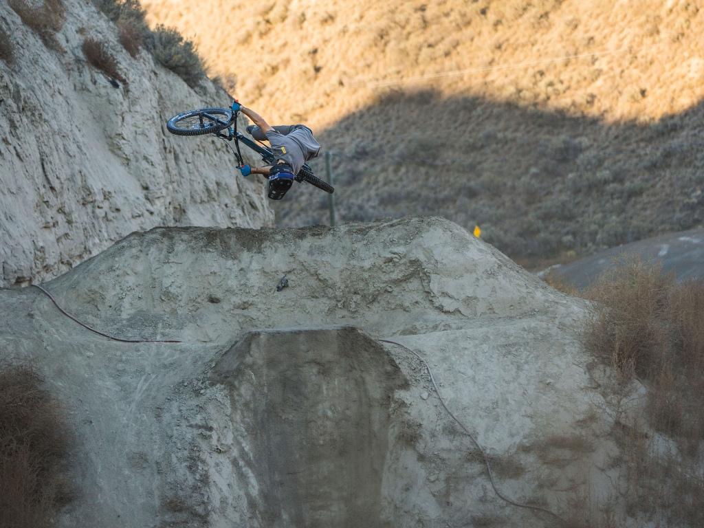 ...and flips Bike 2019 Norco Range Wheels Spank 350 Vibrocore Helmet IXS Xult