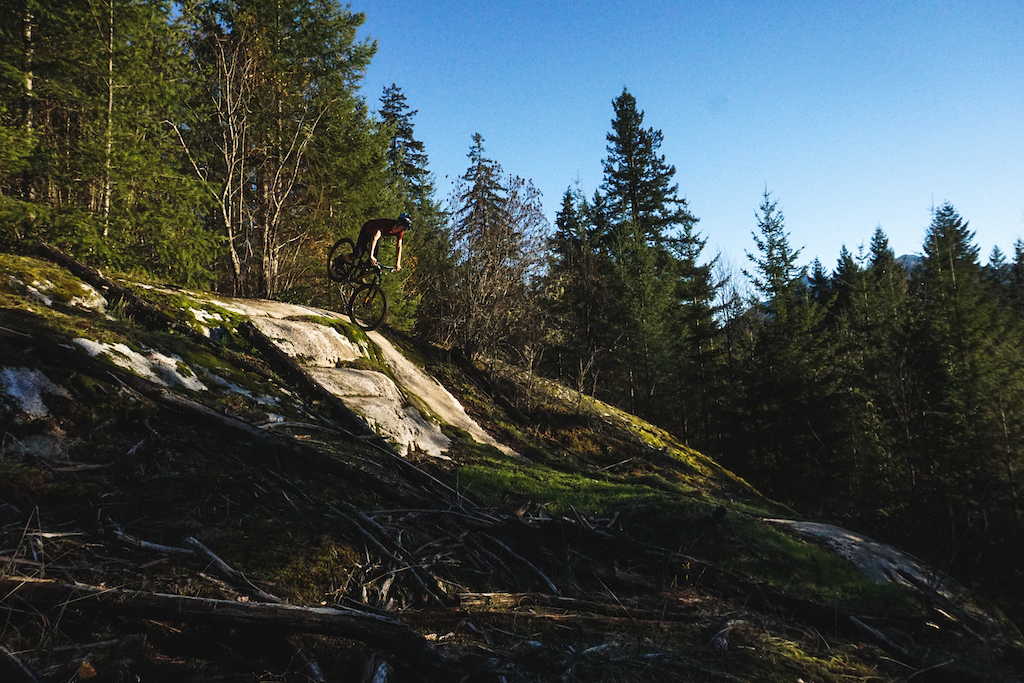 Jakob Jewett rides the Instinct A50 BC Edition in Squamish.