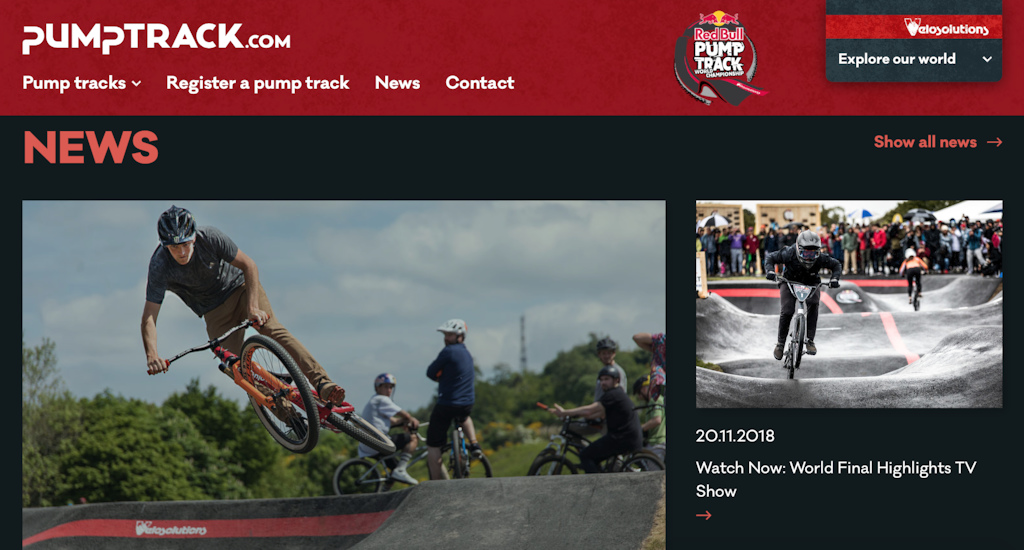 pumptrack.com