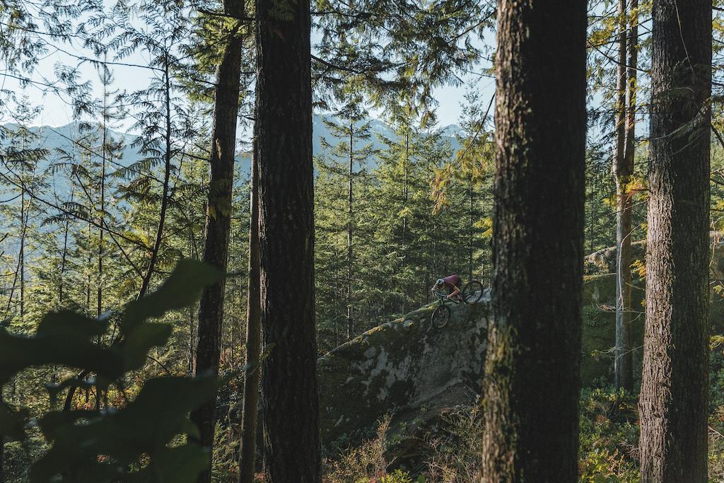 Jakob Jewett rides the Instinct A50 in Squamish.