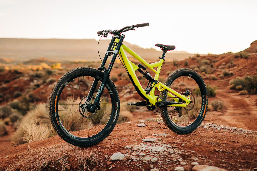 Marc s Rose Bikes Soul Fire DH Whip Captured by Nic Hilton
