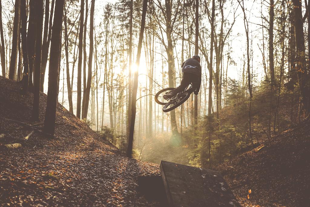 Golden hour ride with Gerd Skant.