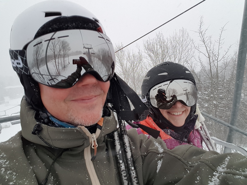 May not be Skibiking or Cycling...but it's Snow Much Fun!