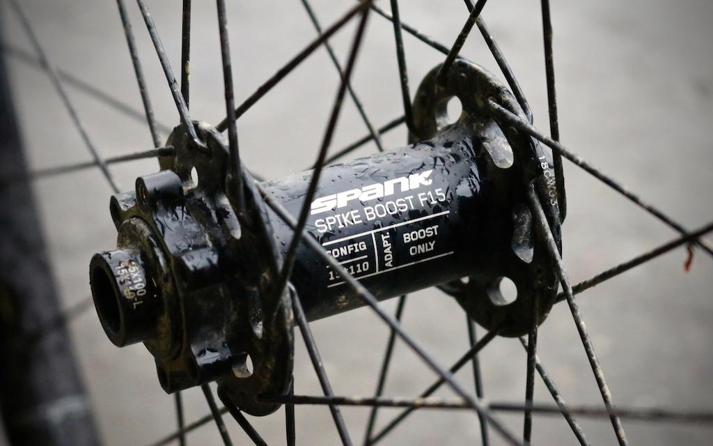 SPIKE 350 VIBROCORE WHEELSET Spank Spike 350 Vibrocore wheelset
