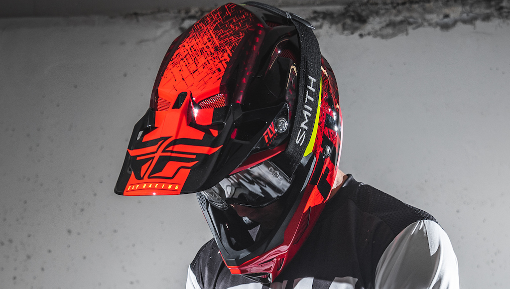 WERX Imprint Helmet in Red Black
