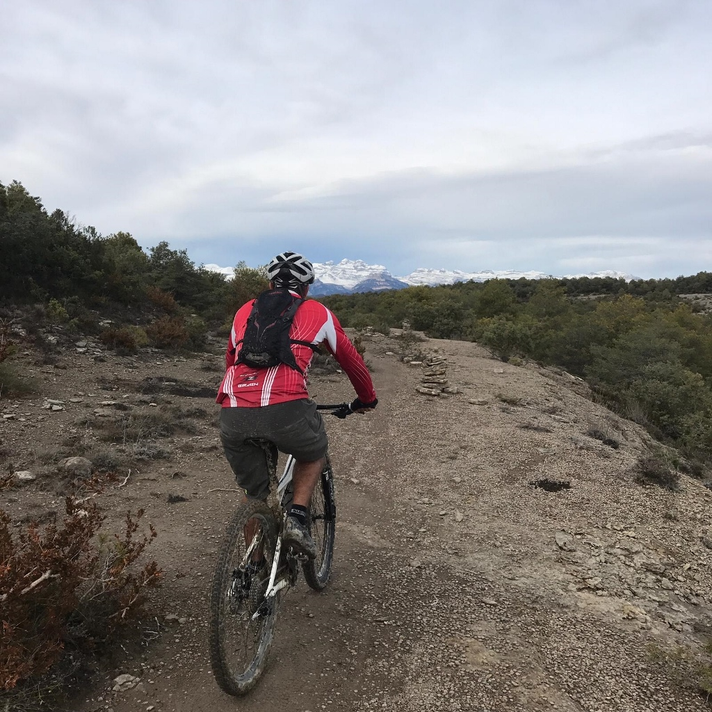 A XC trail with some nice little technical sections.