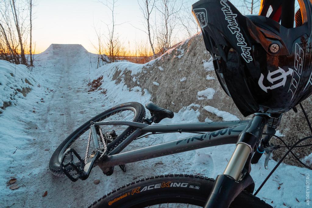 True russian freeride bike