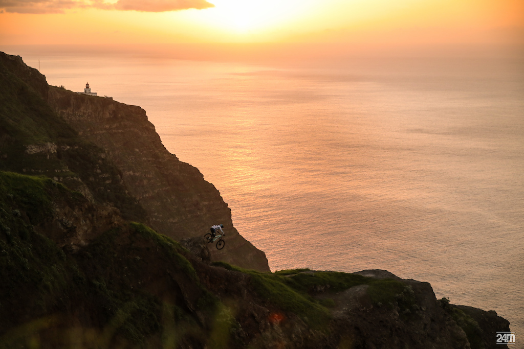 Video: Riding in Stunning Madeira with the Portuguese National DH
